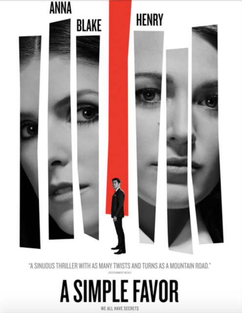 sexy thrillers, fall thriller movies, a simple favor, blake lively